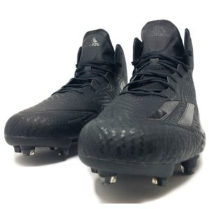 Adidas Adizero 5-Star 5.0 Mid Men's Black Cleats